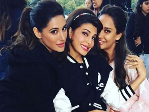 NARGIS shares pictures with Lisa Haydon and Jacqueline