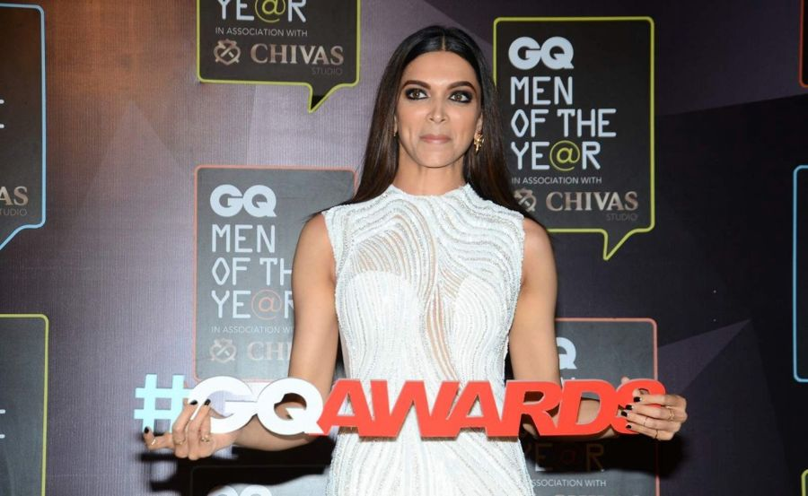 Deepika Padukone Pics from the GQ Men of the Year Award 2015