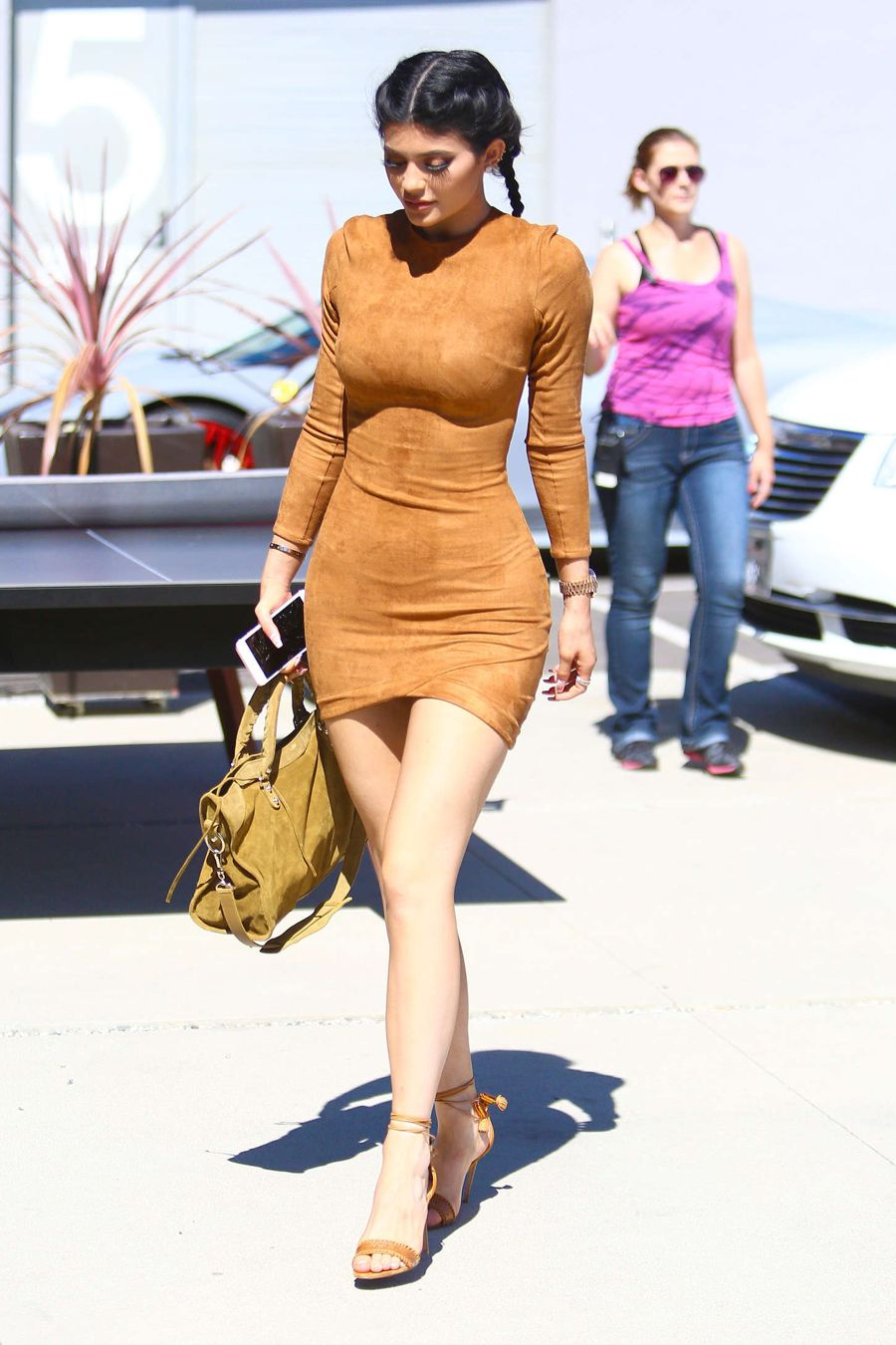 Kylie Jenner - Headed to a studio in Culver City