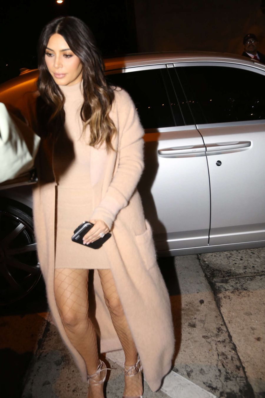 Kim Kardashian - Arriving at Craigs Restaurant