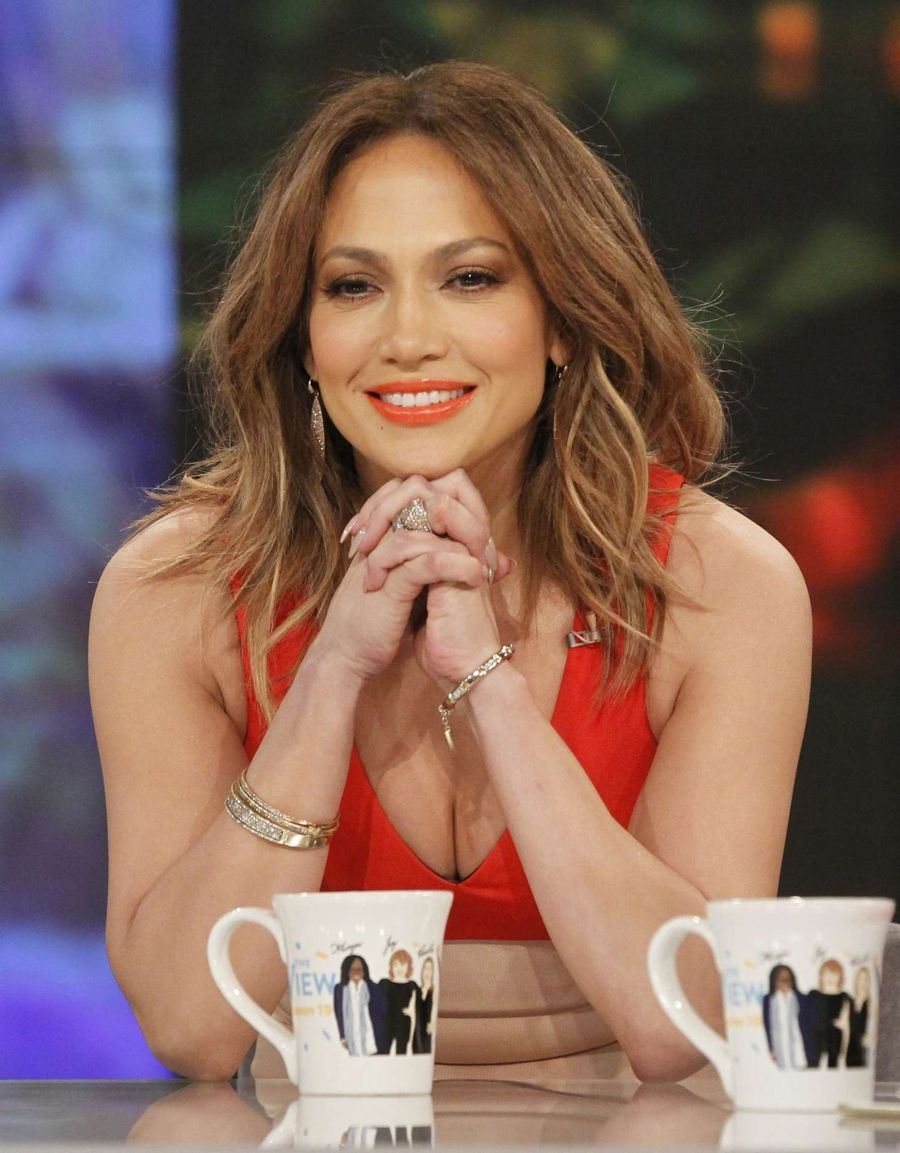 Jennifer Lopez -On 'The View' in NYC