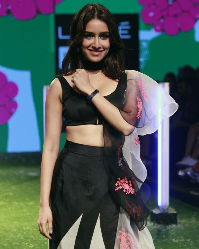 Shraddha Kapoor's sporty ramp look