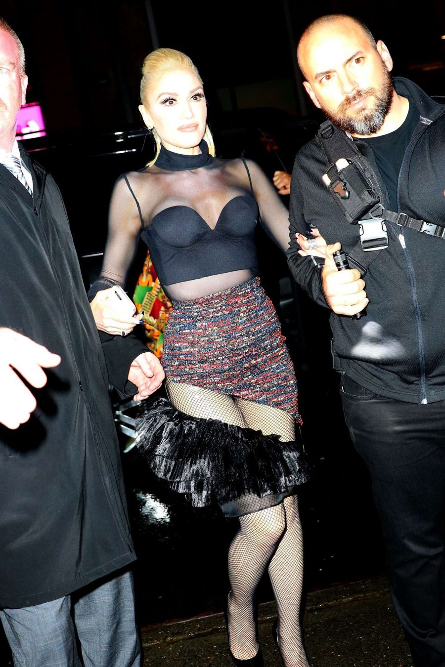 Gwen Stefani at the SNL After Party in NY
