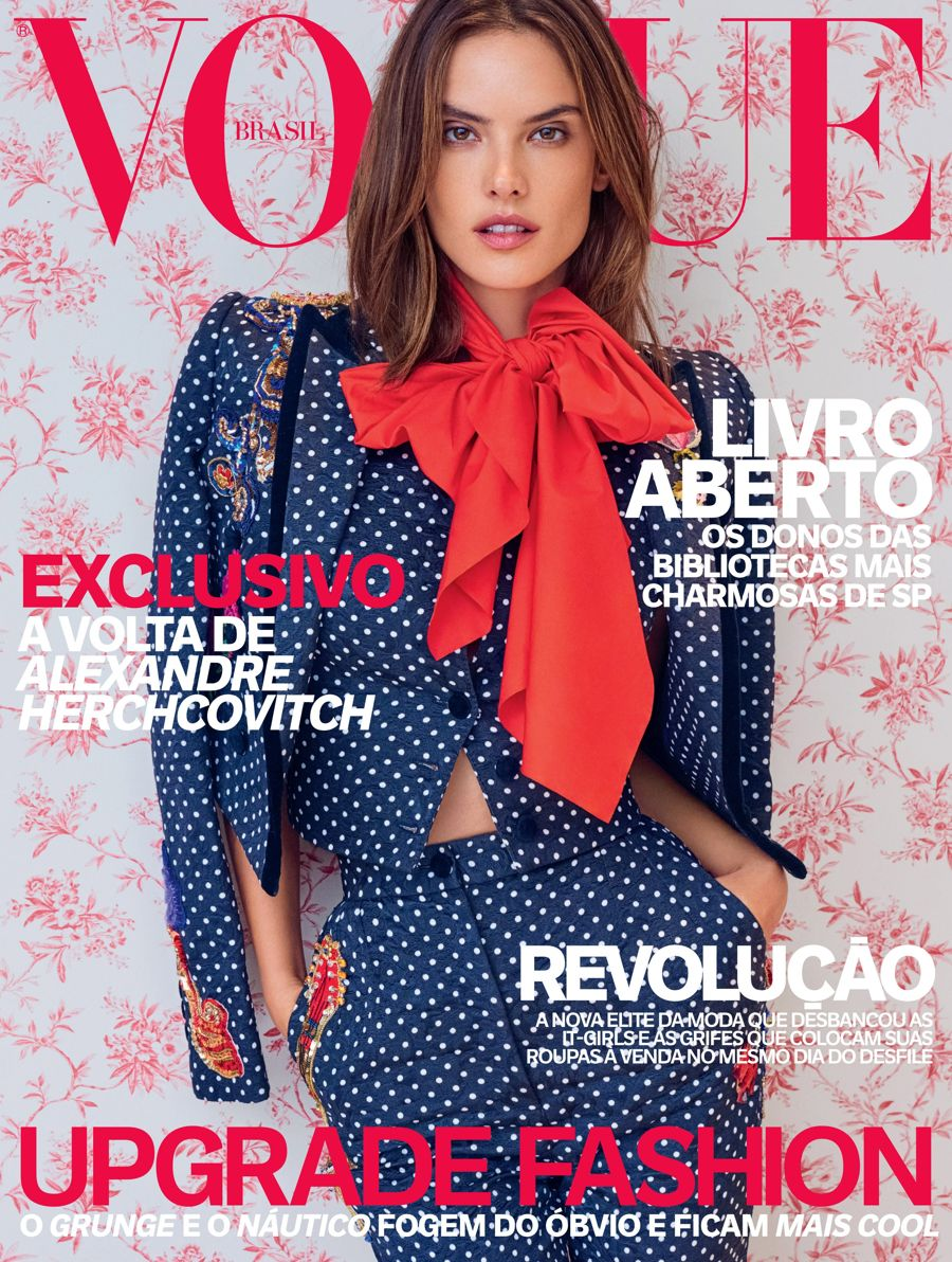 Alessandra Ambrosio - Vogue Brazil Magazine (April 2016)
