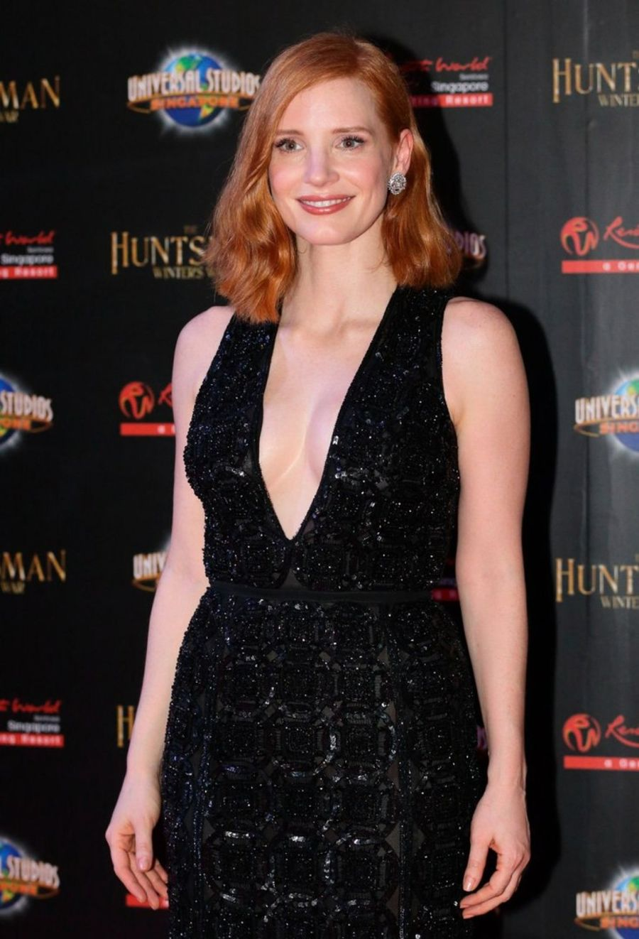 Jessica Chastain - 'The Huntsman: Winter's War' Premiere