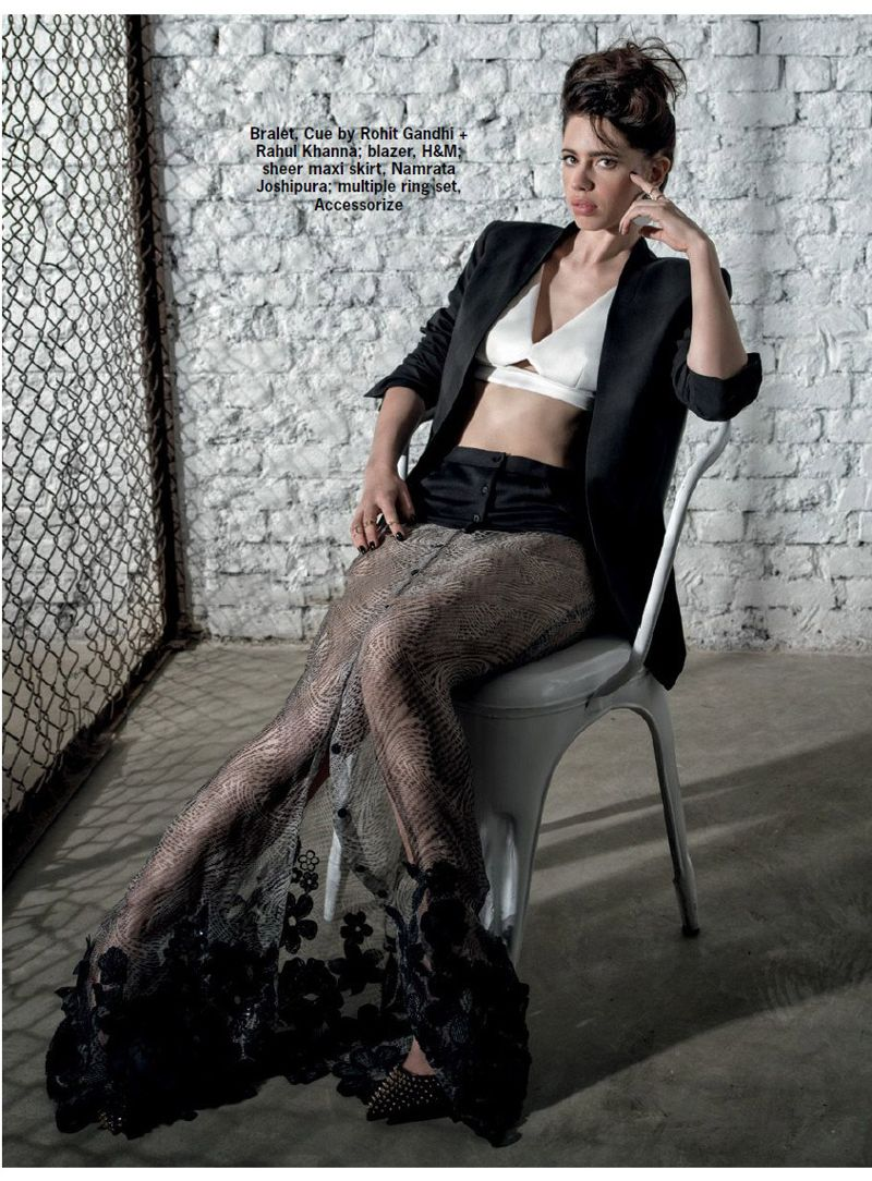 Kalki Koechlin Cosmopolitan India Magazine April 2016