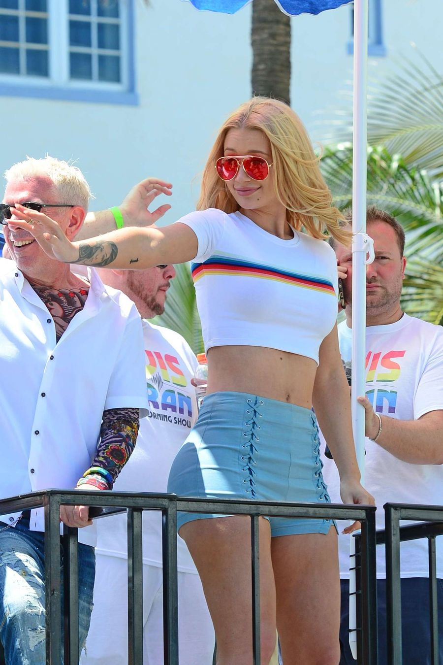 Iggy Azalea at Gay Pride Parade in Miami Beach