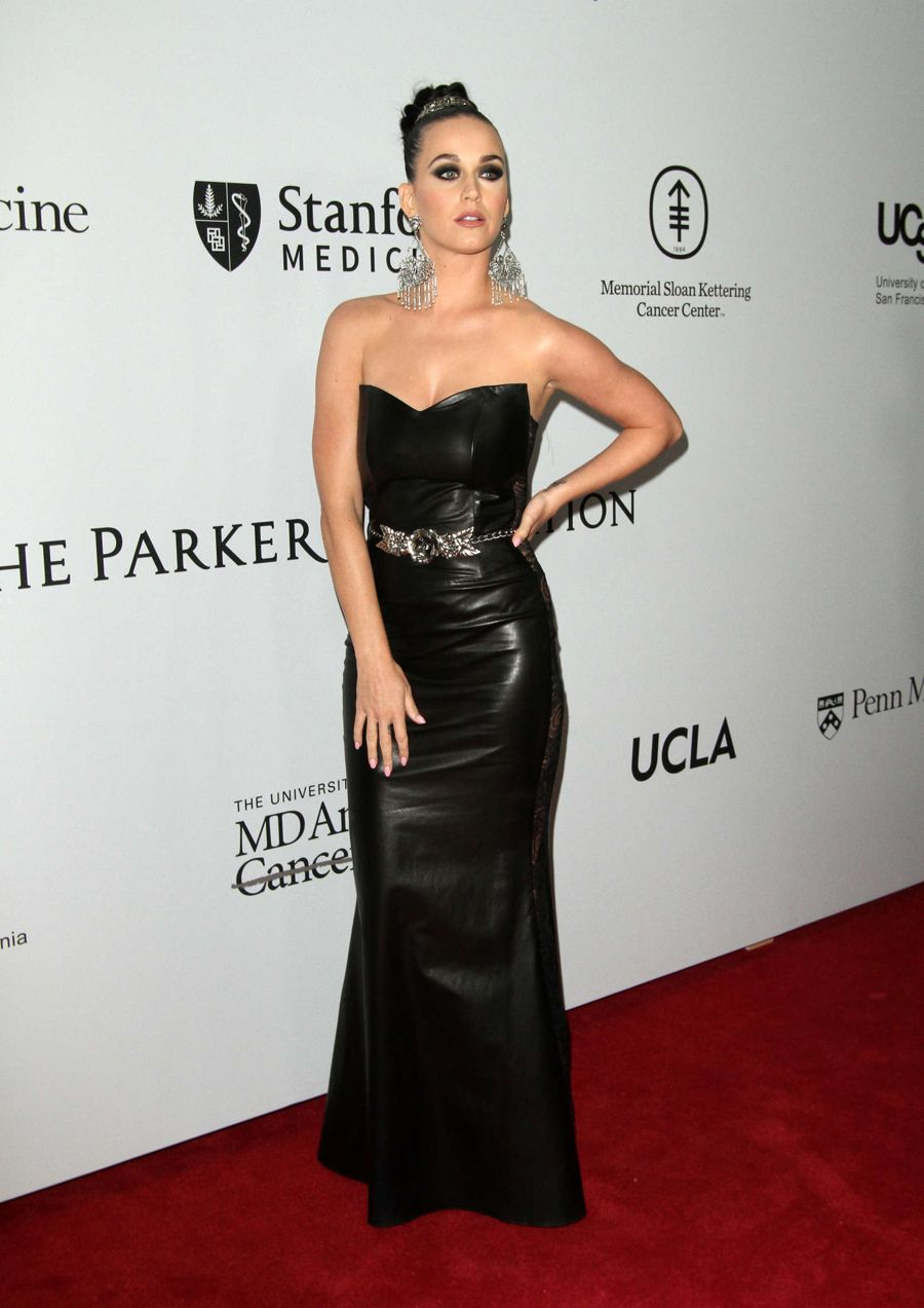 Katy Perry at Parker Institute for Cancer Immunotherapy