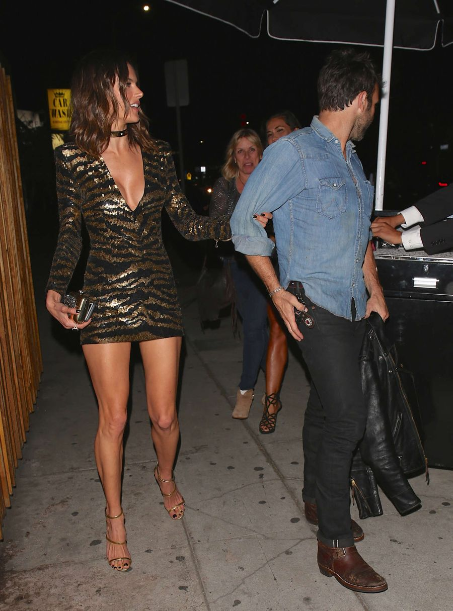 Alessandra Ambrosio Celebrates her birthday in Hollywood