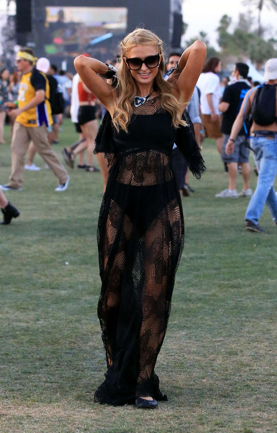Paris Hilton - Coachella Valley Music Festival 2016