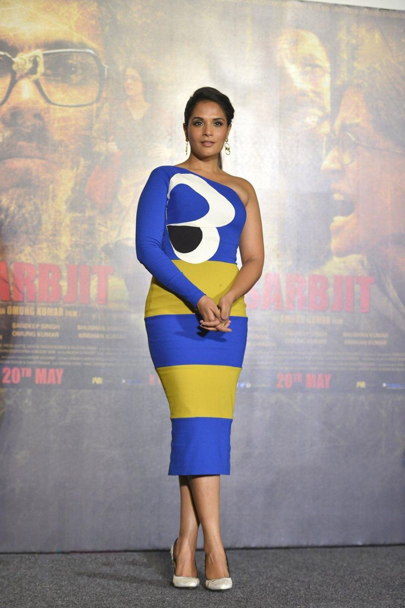 Richa Chadha Clicked at Sarbjit's Trailer Launch