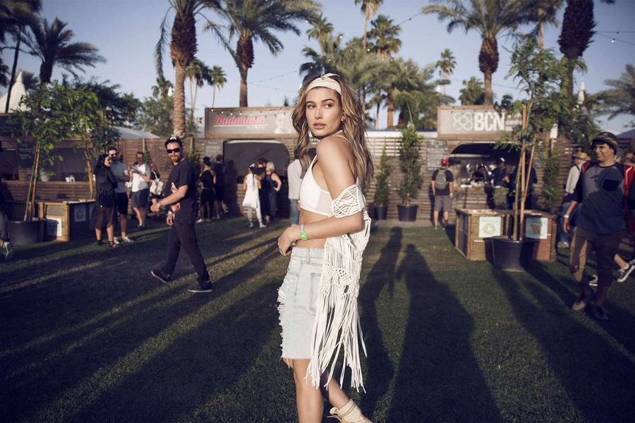 Hailey Baldwin - H&M Loves Coachella 2016