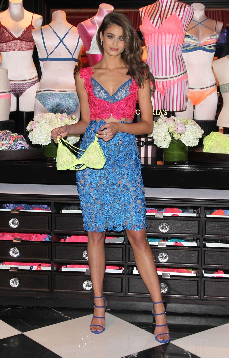 Taylor Hill - VS All New Bralette Collection Launch