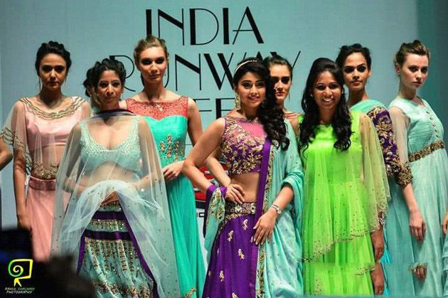 Shriya at Songstress of Love at the India Runway Week