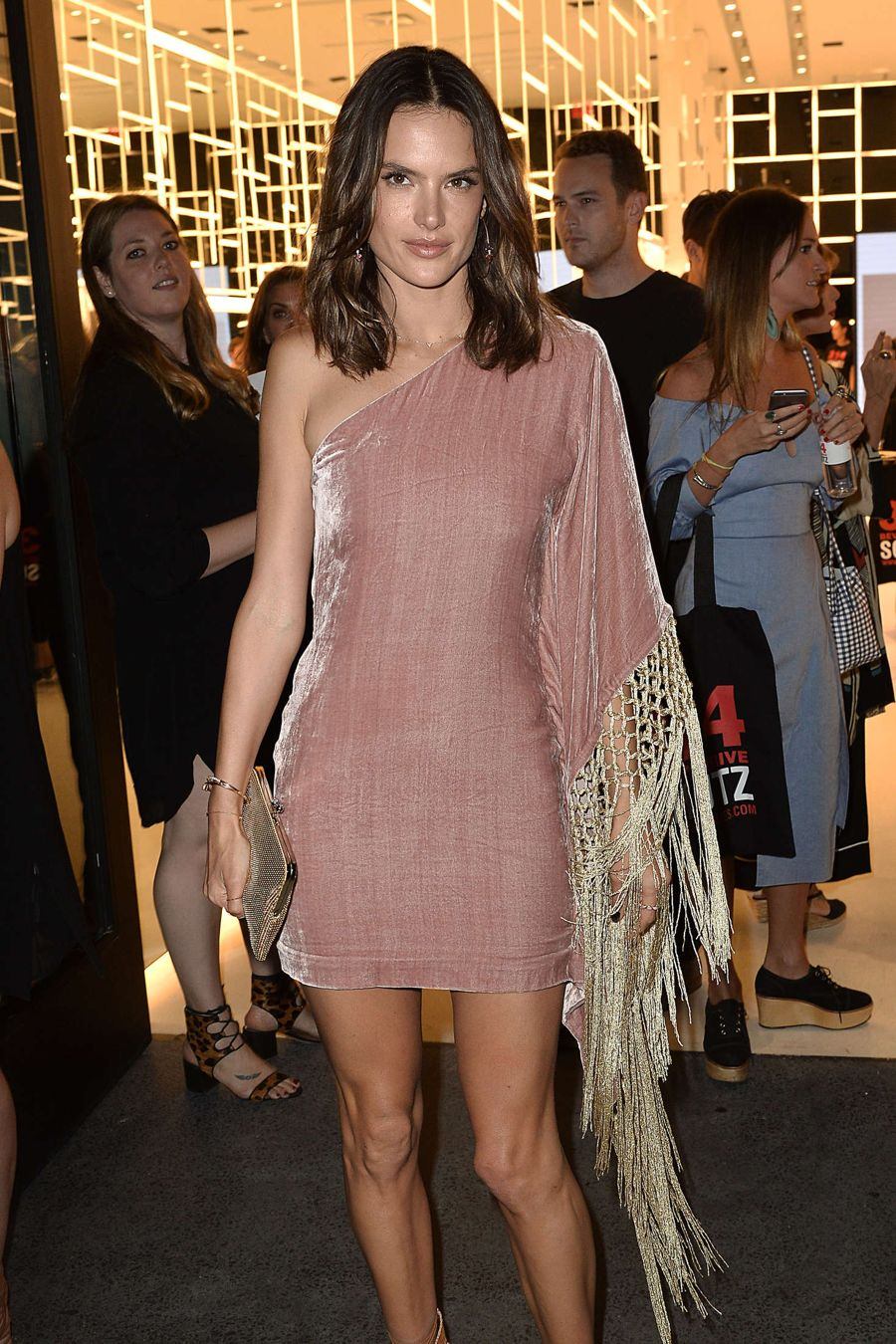 Alessandra Ambrosio - 314 Beverly Schutz Shoes Party