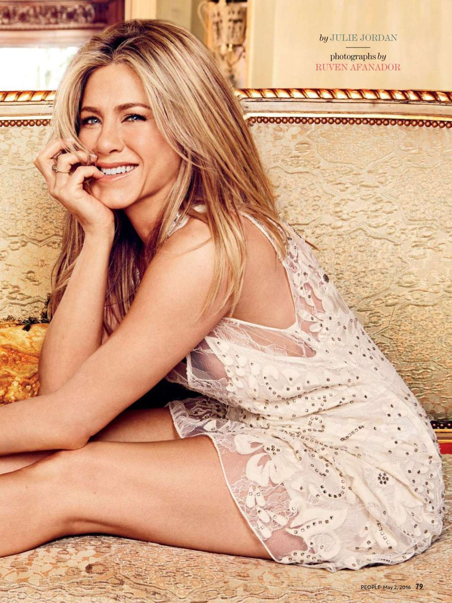 Jennifer Aniston - People Magazine (May 2016)