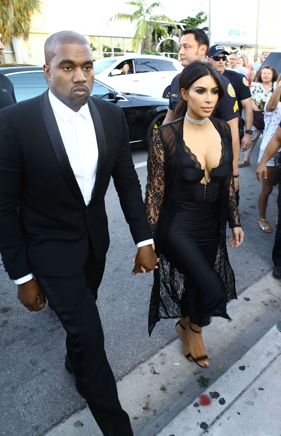 Kim Kardashian at Isabela Rangel's Wedding in Miami