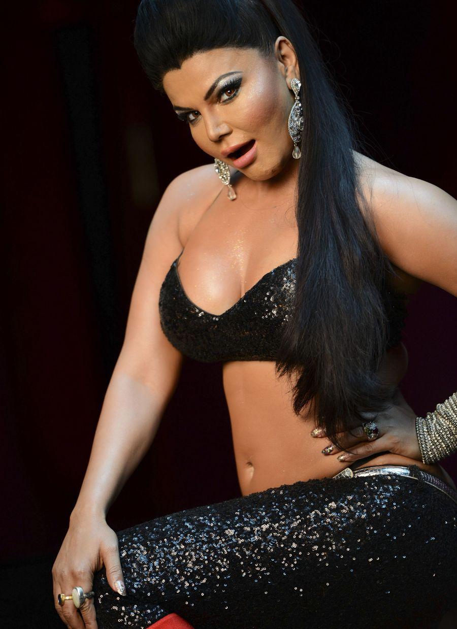 Item Queen Rakhi Sawant Doing What She Does Best