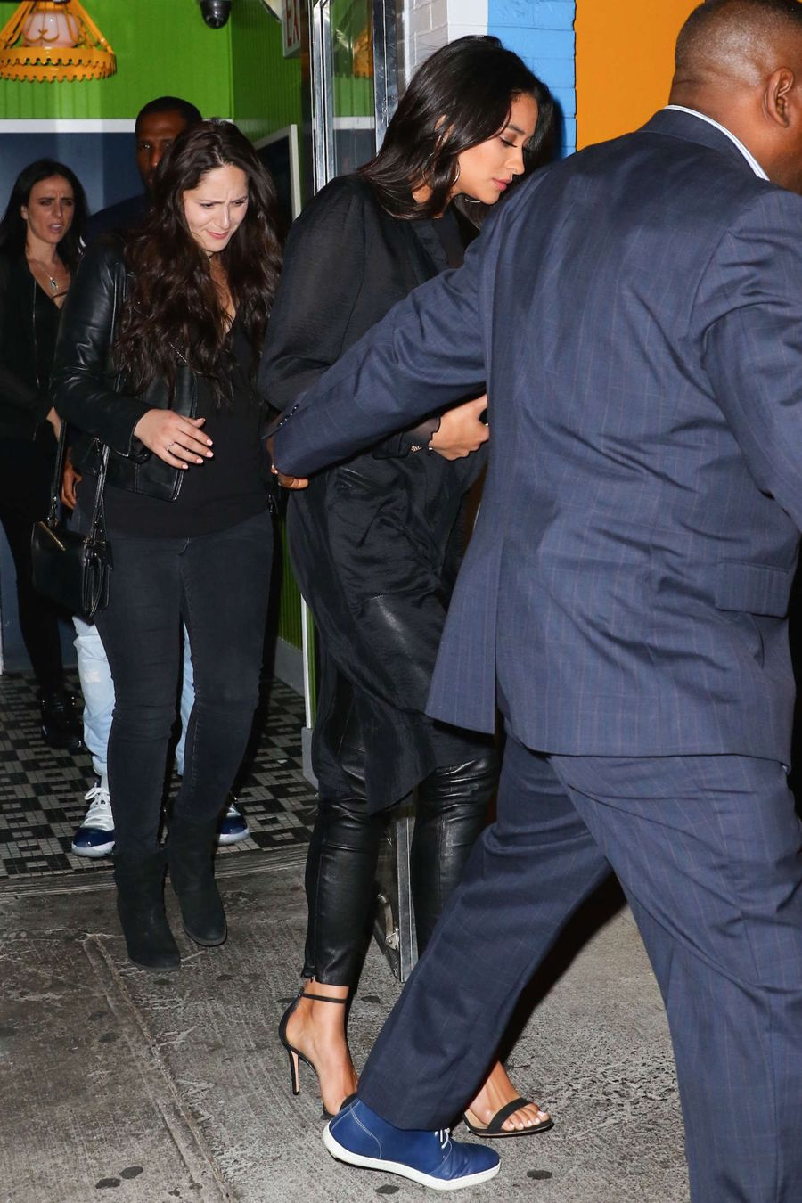 Shay Mitchell's Night Out with Beau in New York