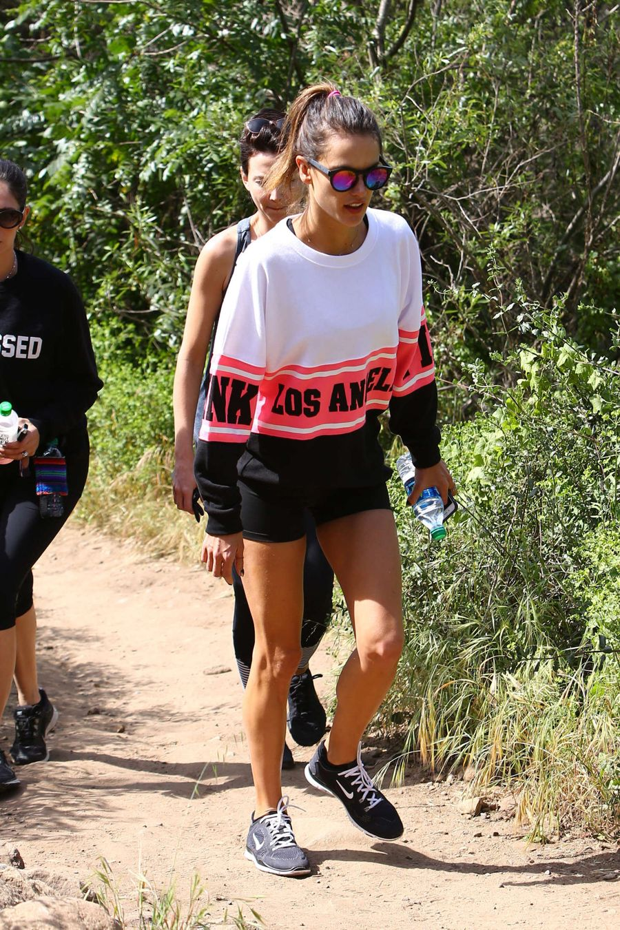Alessandra Ambrosio - Hiking the Los Liones