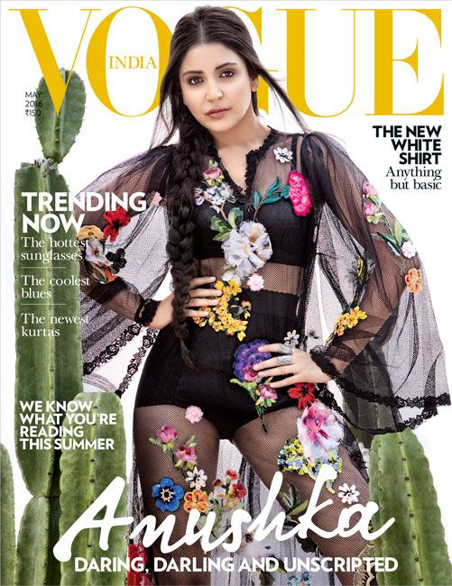 Anushka Sharma Drop Dead Gorgeous in Vogue