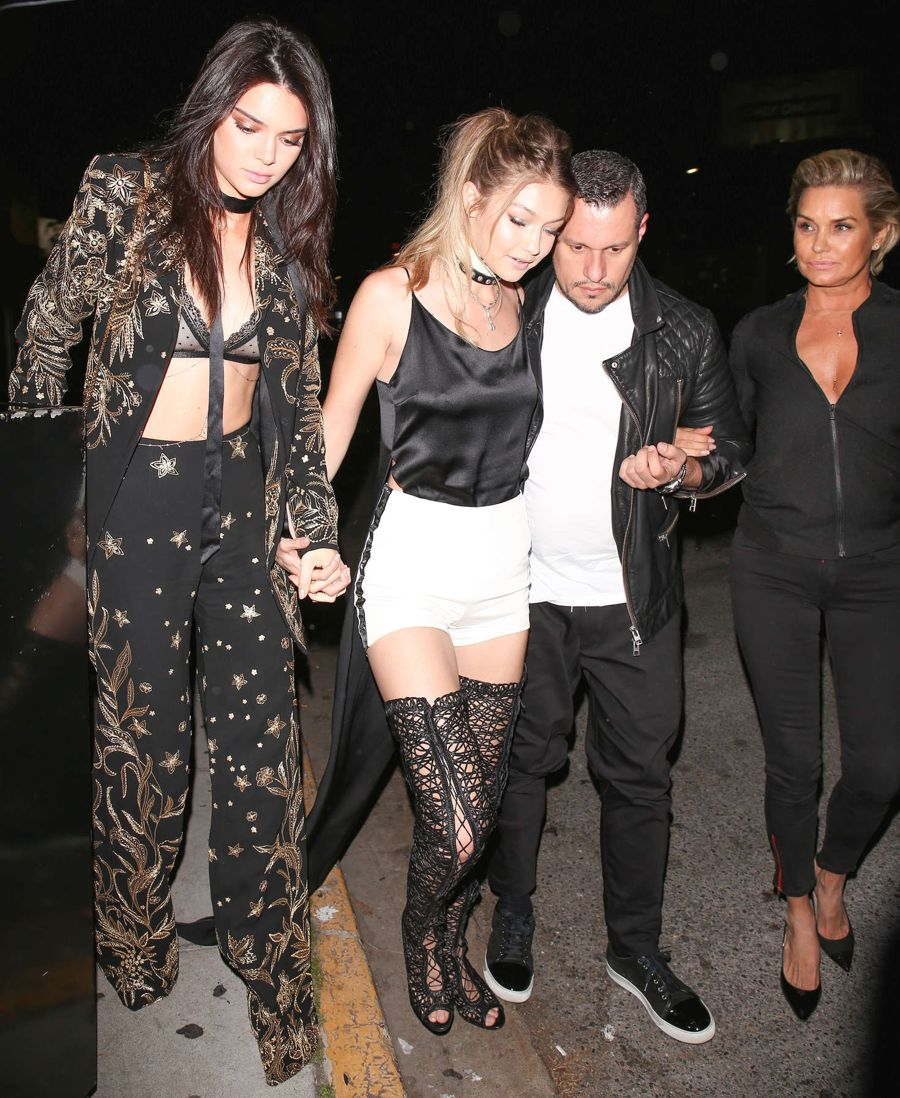 Kendall Jenner and Gigi Hadid's 21st Birthday Party
