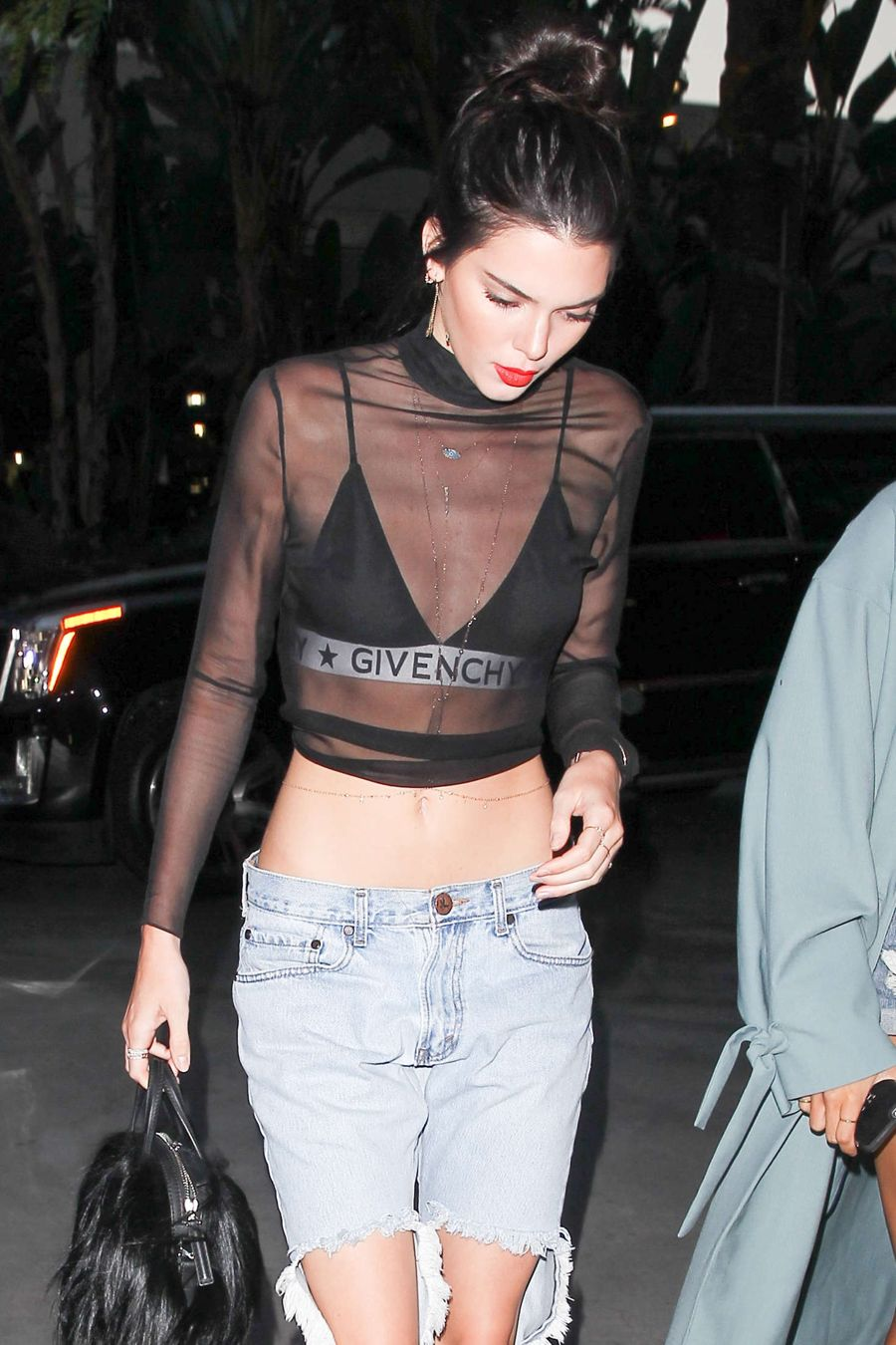 Kendall Jenner at the Adele concert in Los Angeles