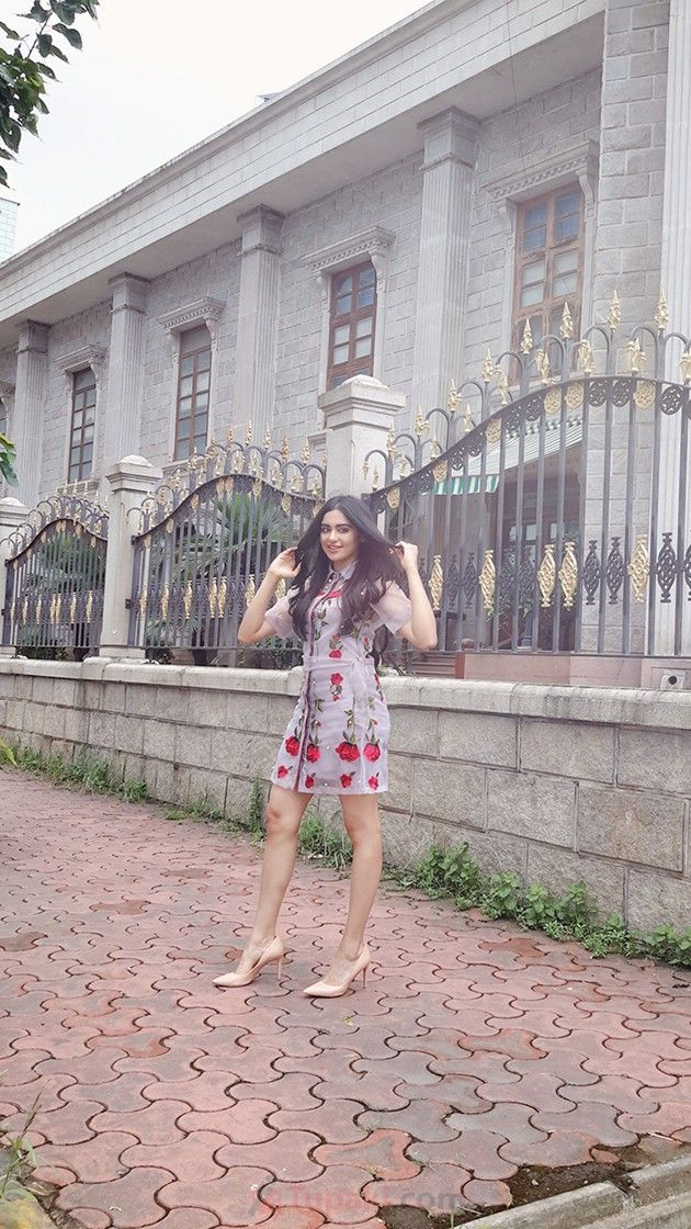 Adah Sharma Looks Gorgeous in Floral Dress