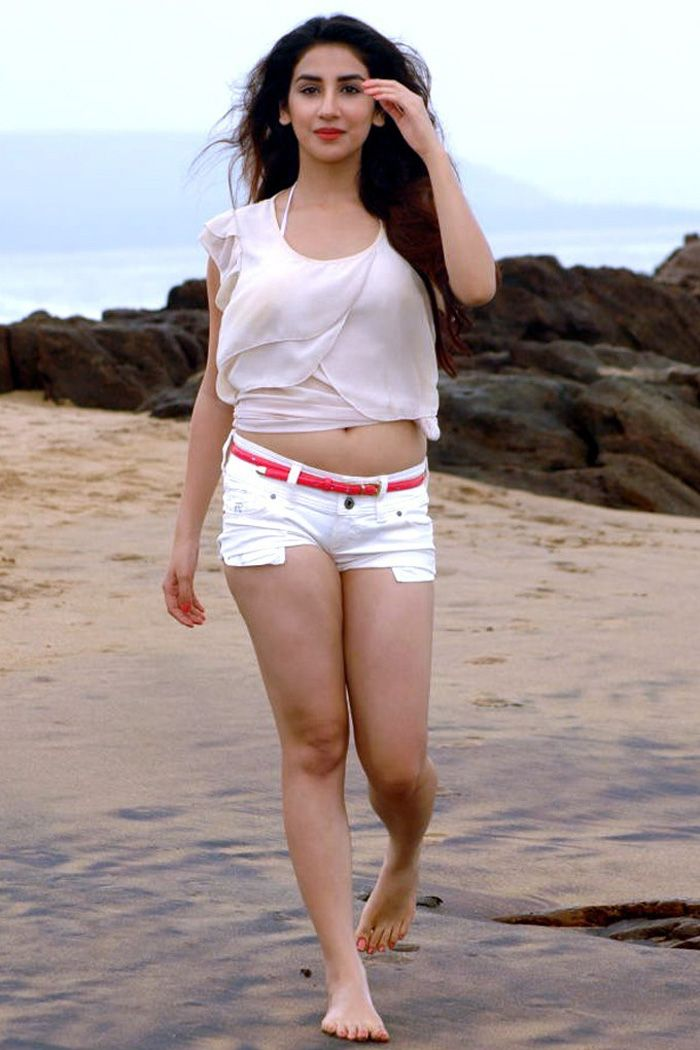 Parul Gulati Holiday Pics at Beach