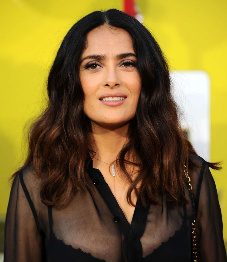 Salma Hayek - 'Sausage Party' Premiere in Westwood
