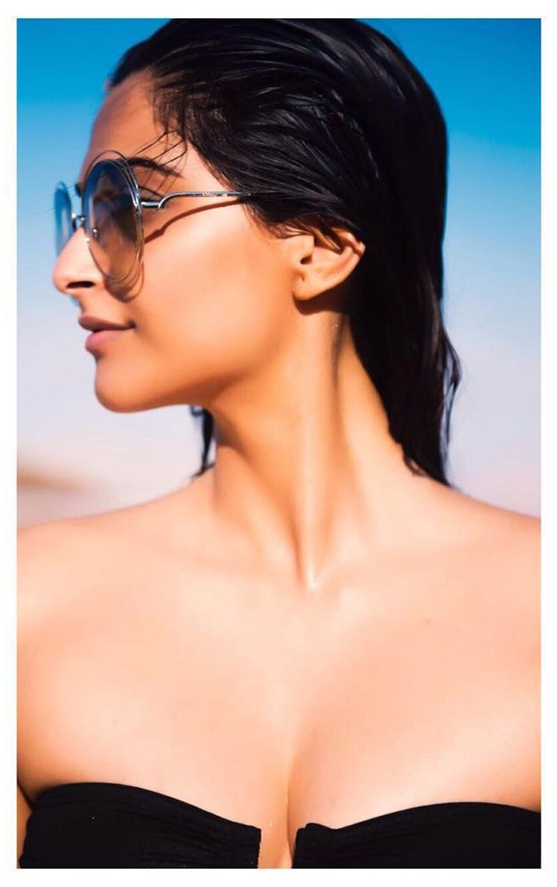 Sonam Kapoor Shared Beach Pictures