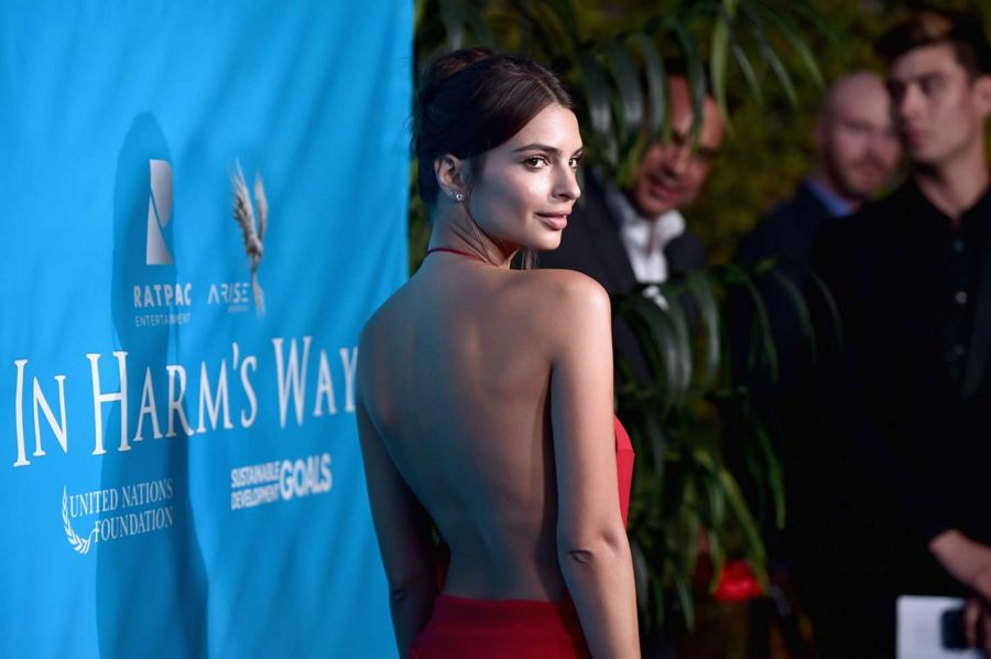 Emily Ratajkowski - Special Event For UN Secretary