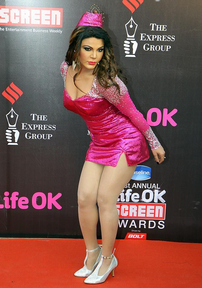 Rakhi Sawant's 9 MOST OUTRAGEOUS looks!