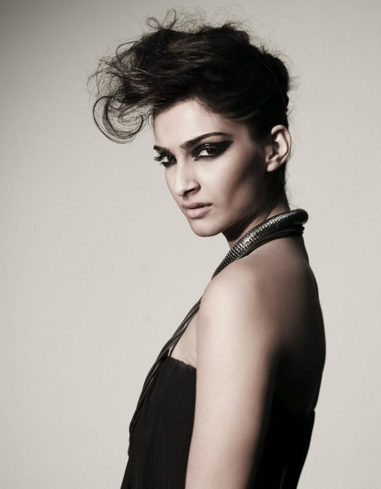 Sonam Kapoor shoot for STARDUST Style Secrets