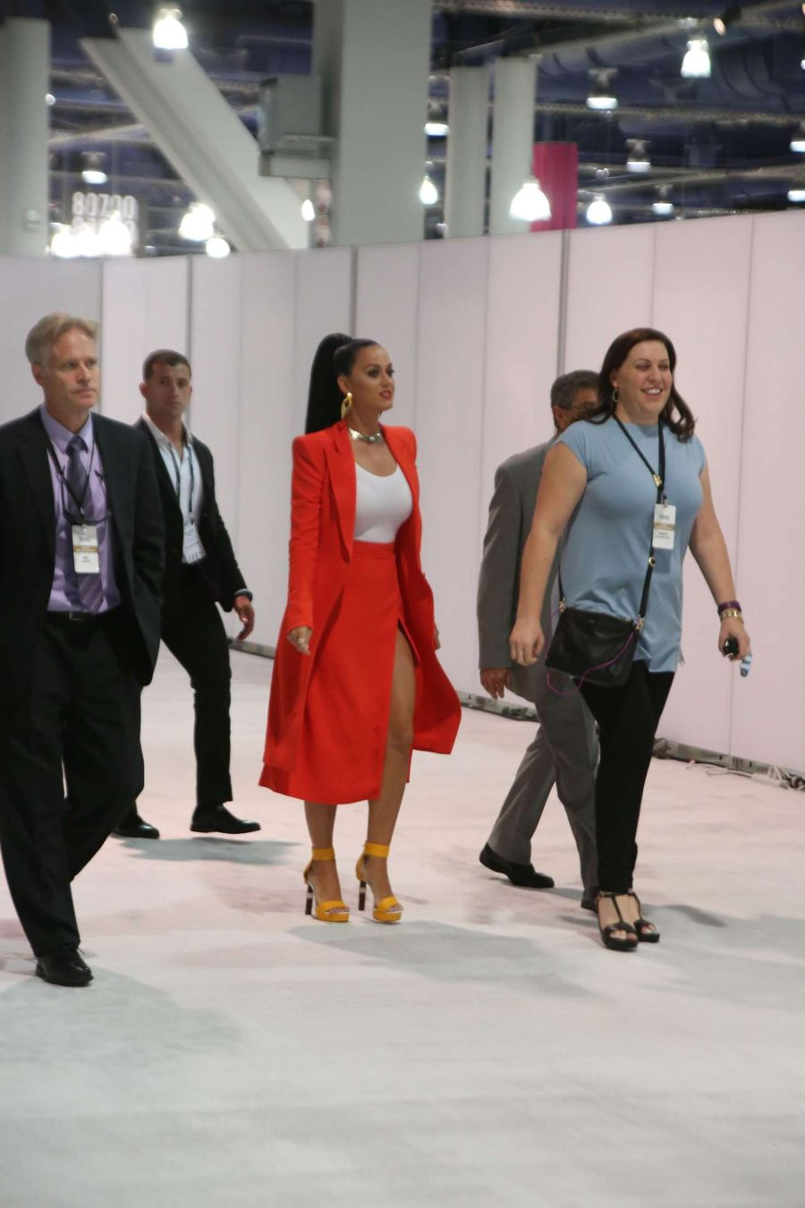 Katy Perry at The Convention Center in Las Vegas