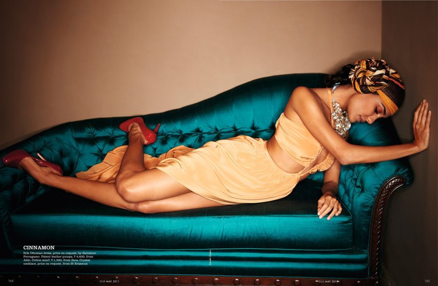 Lisa Haydon On The Cover Page Of Verve Magazine