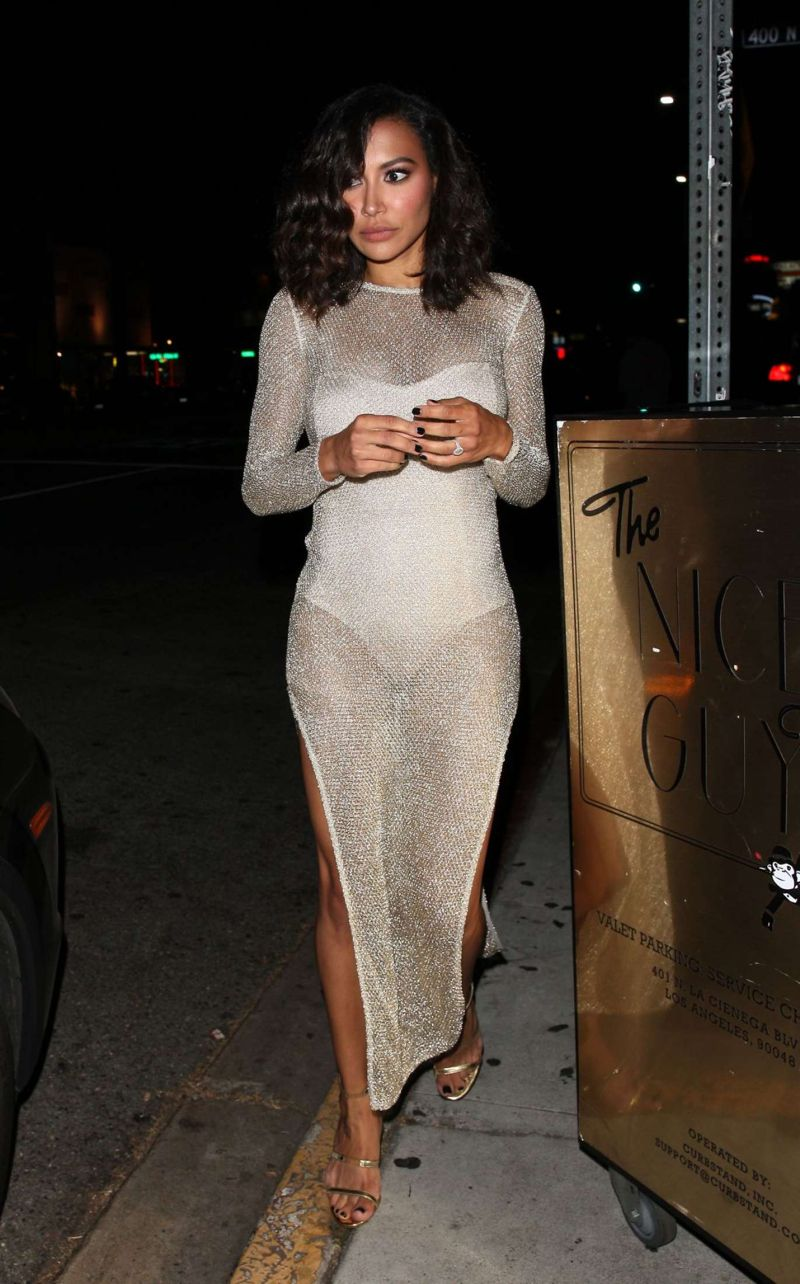 Naya Rivera Night Out in West Hollywood