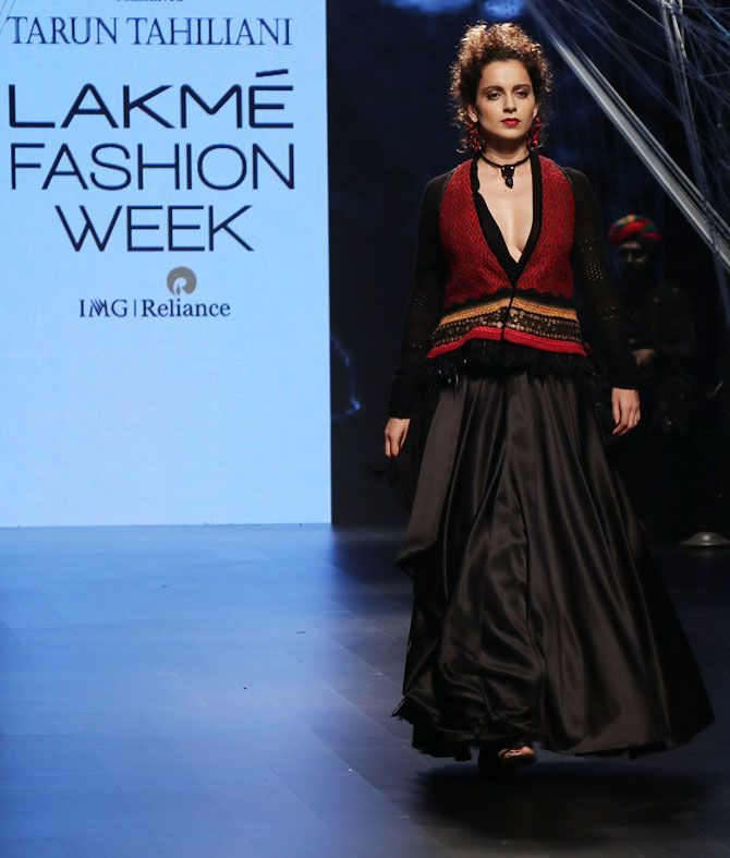 Kangana turns up the heat for Tarun Tahiliani