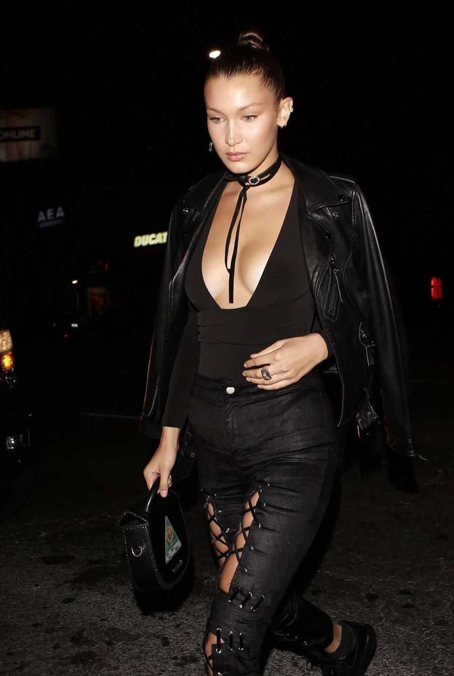 Bella Hadid at The Nice Guy in West Hollywood