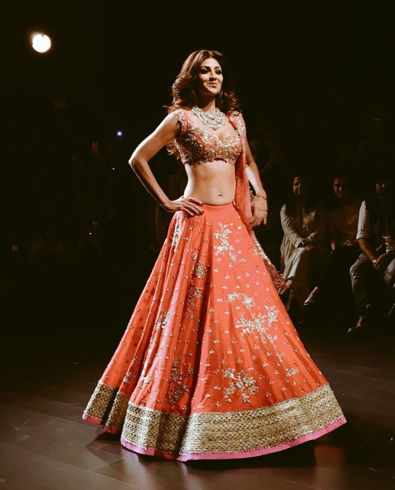Shilpa Shetty stunner showstopper for Anushree Reddy