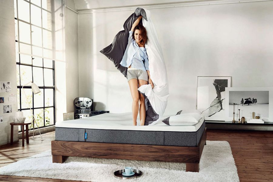 Lena Meyer - Florian Grill Photoshoot for Emma mattresses