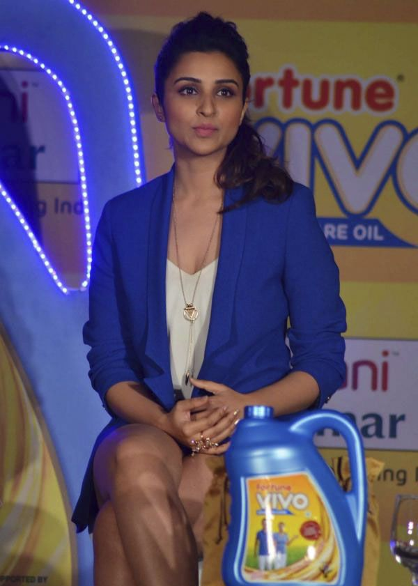 Parineeti Chopra at Fortune Vivo Oil Launch