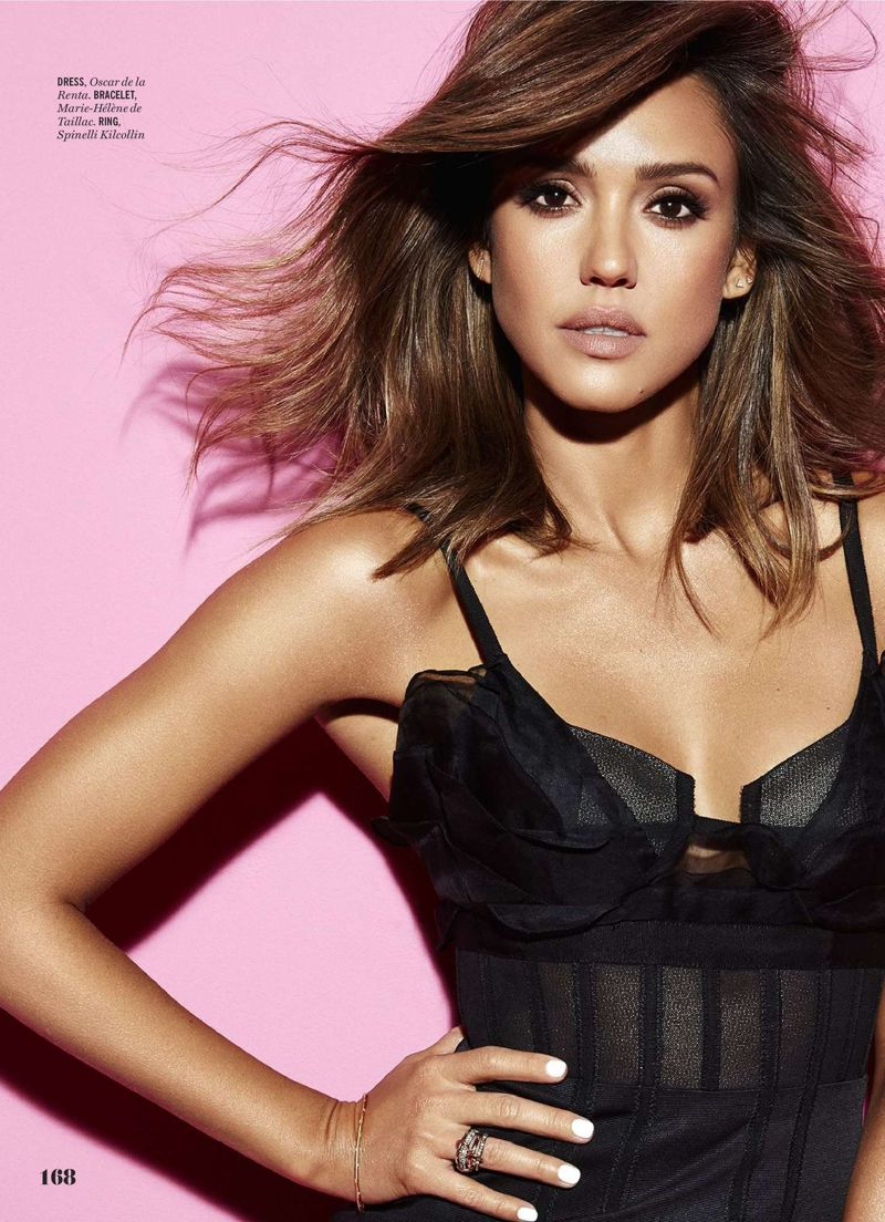 Jessica Alba - Cosmopolitan Magazine (March 2016)