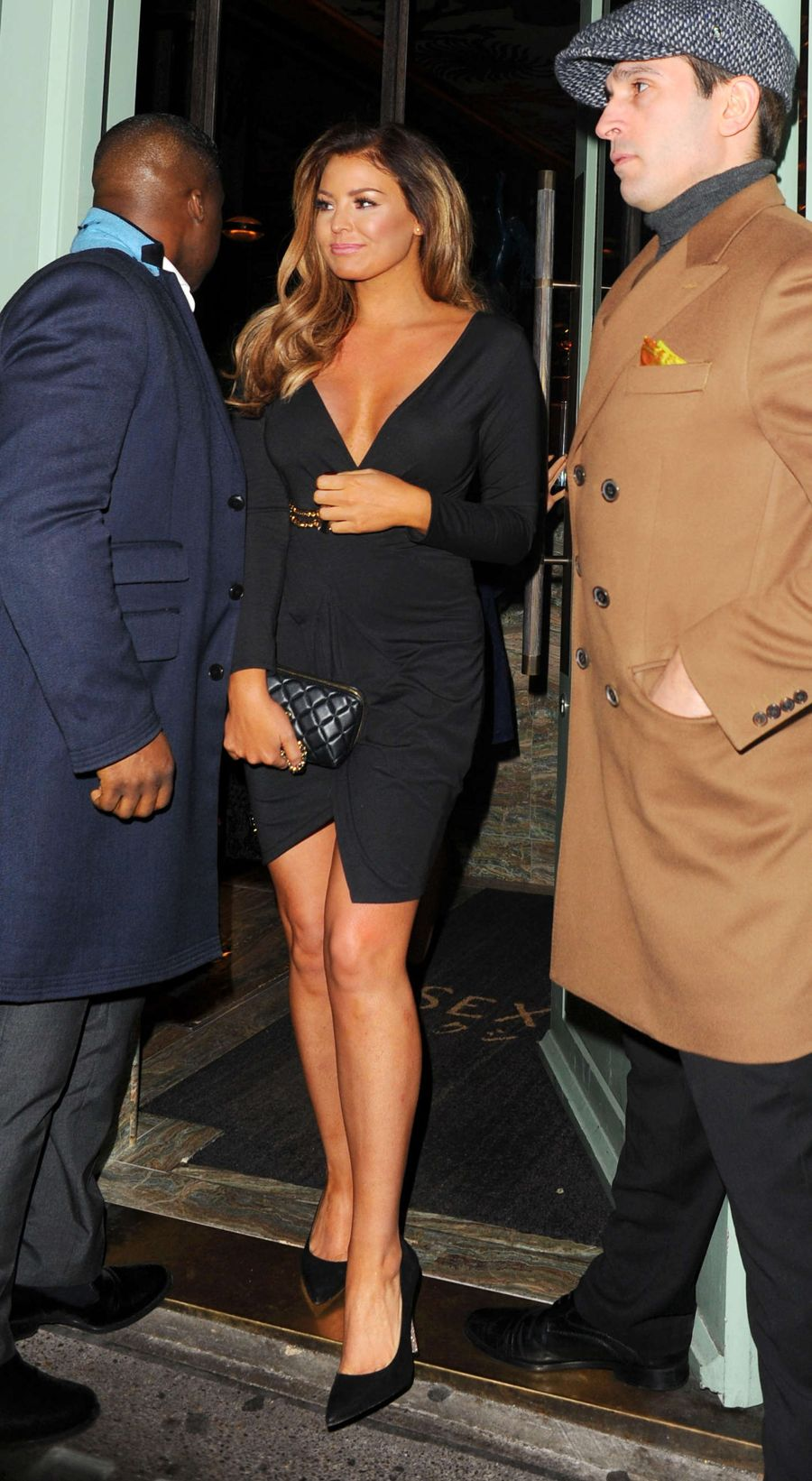 Jessica Wright at Sexy Fish Restaurant in London