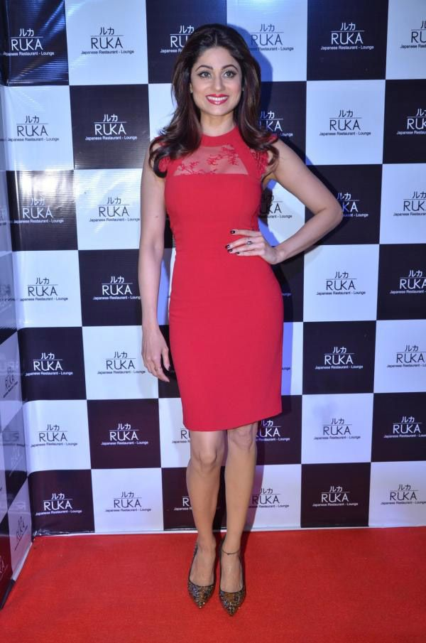 Shamita Shetty During Her Birthday Bash 2016