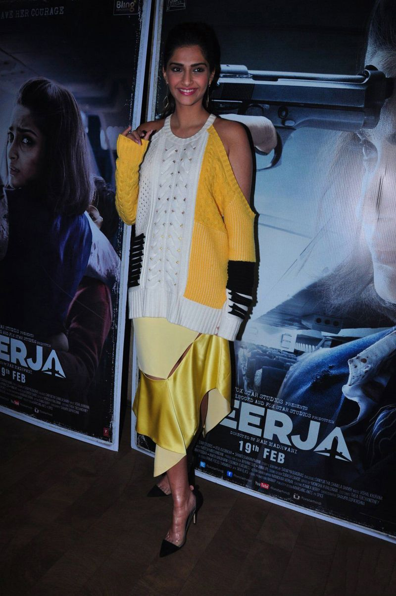Sonam Kapoor at Neerja Song Launch