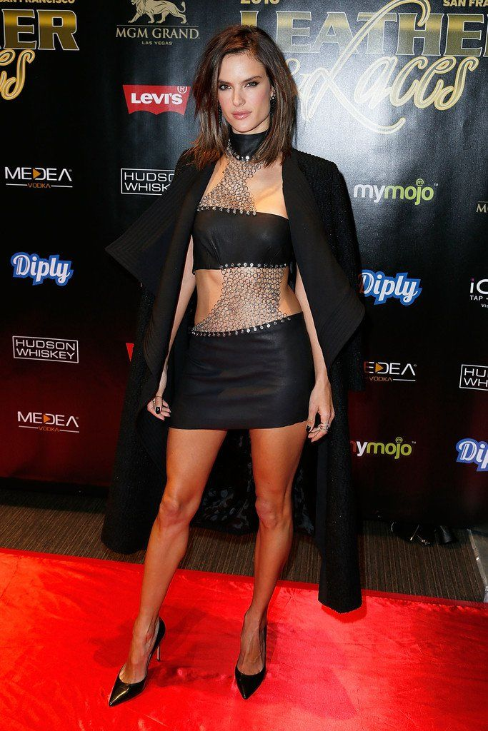 """Alessandra Ambrosio - 13th Annual """"Leather & Laces"""" Party"""