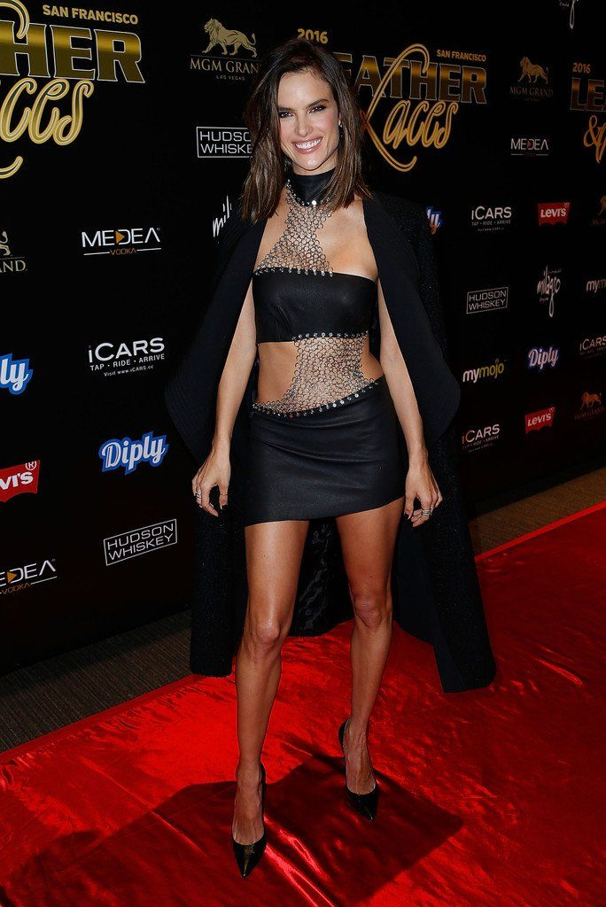 "Alessandra Ambrosio - 13th Annual ""Leather & Laces"" Party"