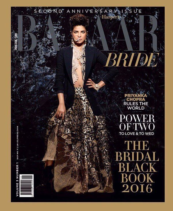 Priyanka turns 'powerful' modern bride for Harper's Bazar