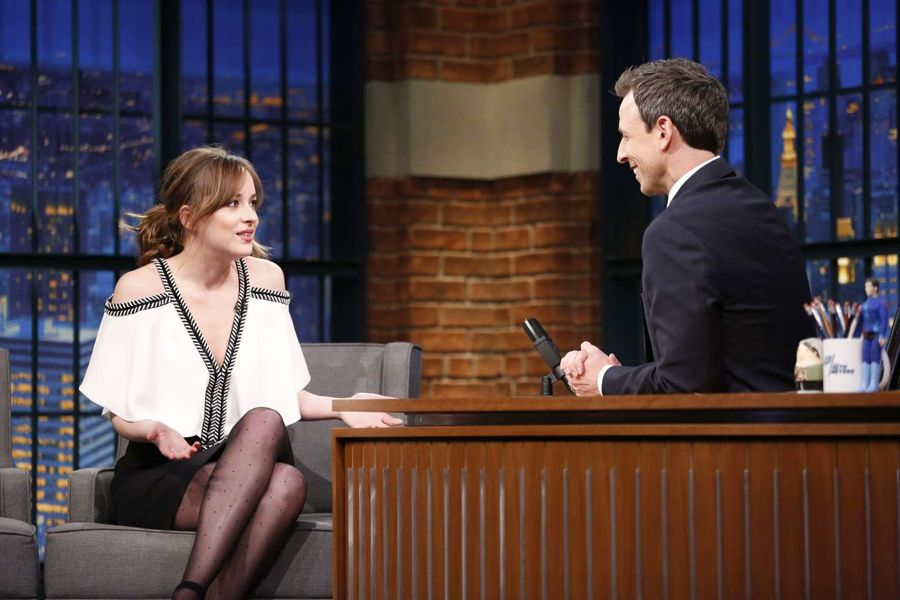 Dakota Johnson - 'Late Night with Seth Meyers'